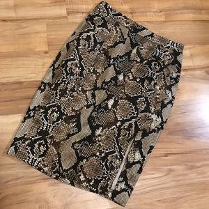 Women's Python Print Altuzarra Pencil Skirt!